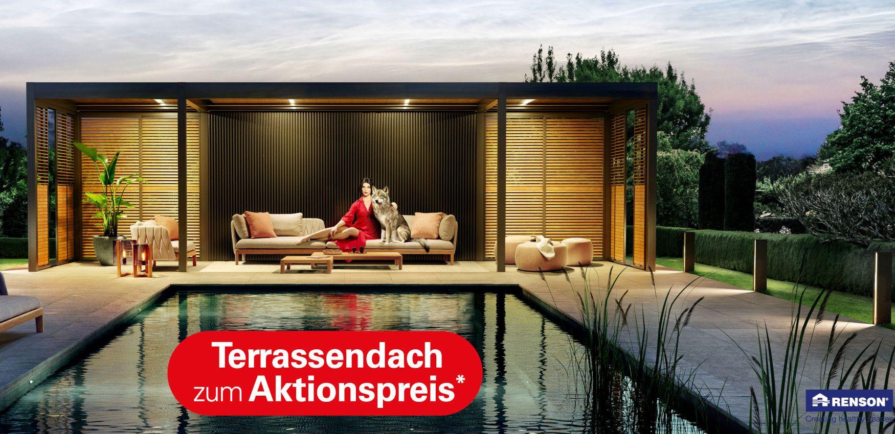 Terrassendach-Aktion